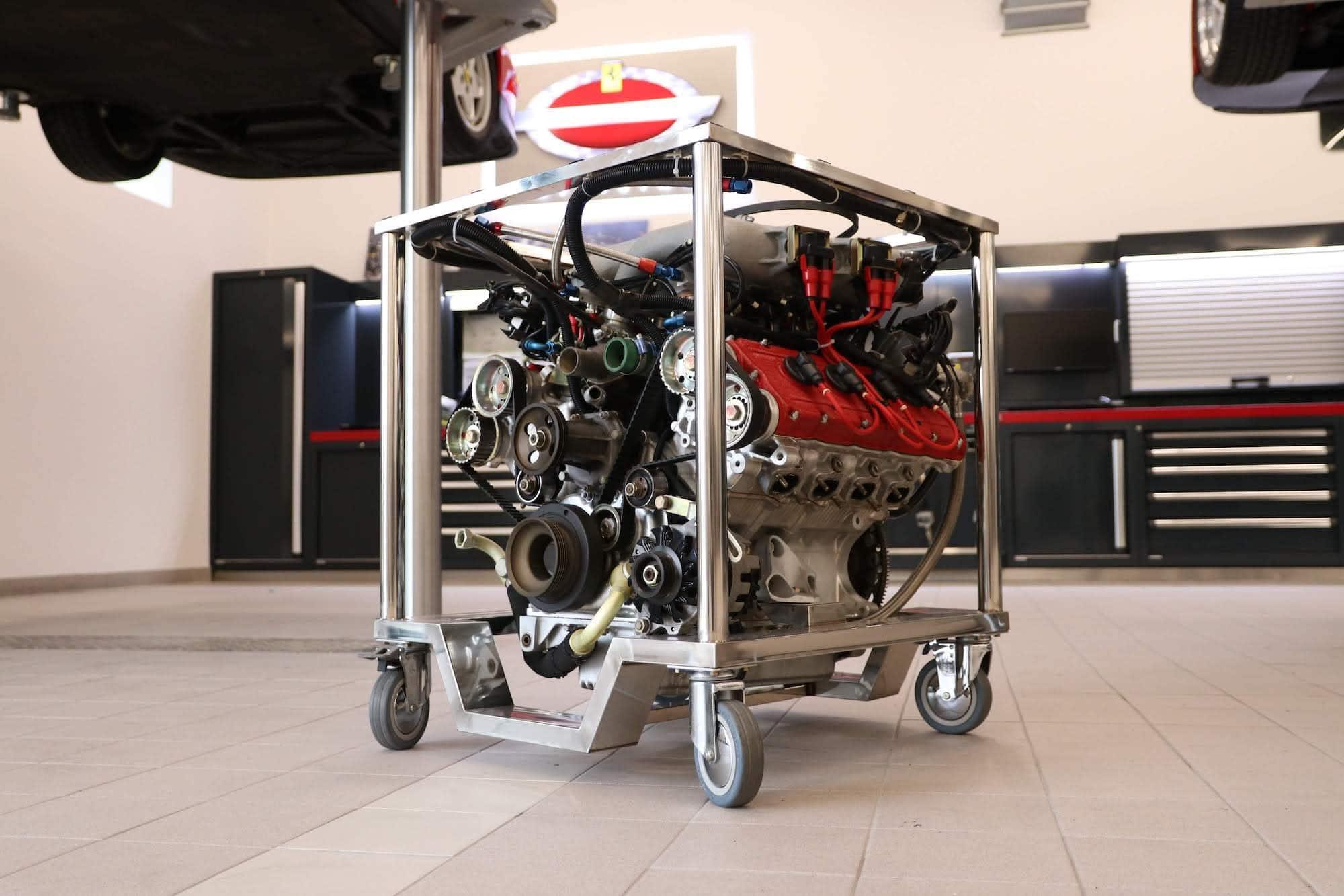 Moteur Ferrari à vendre aux enchères : V8 F40