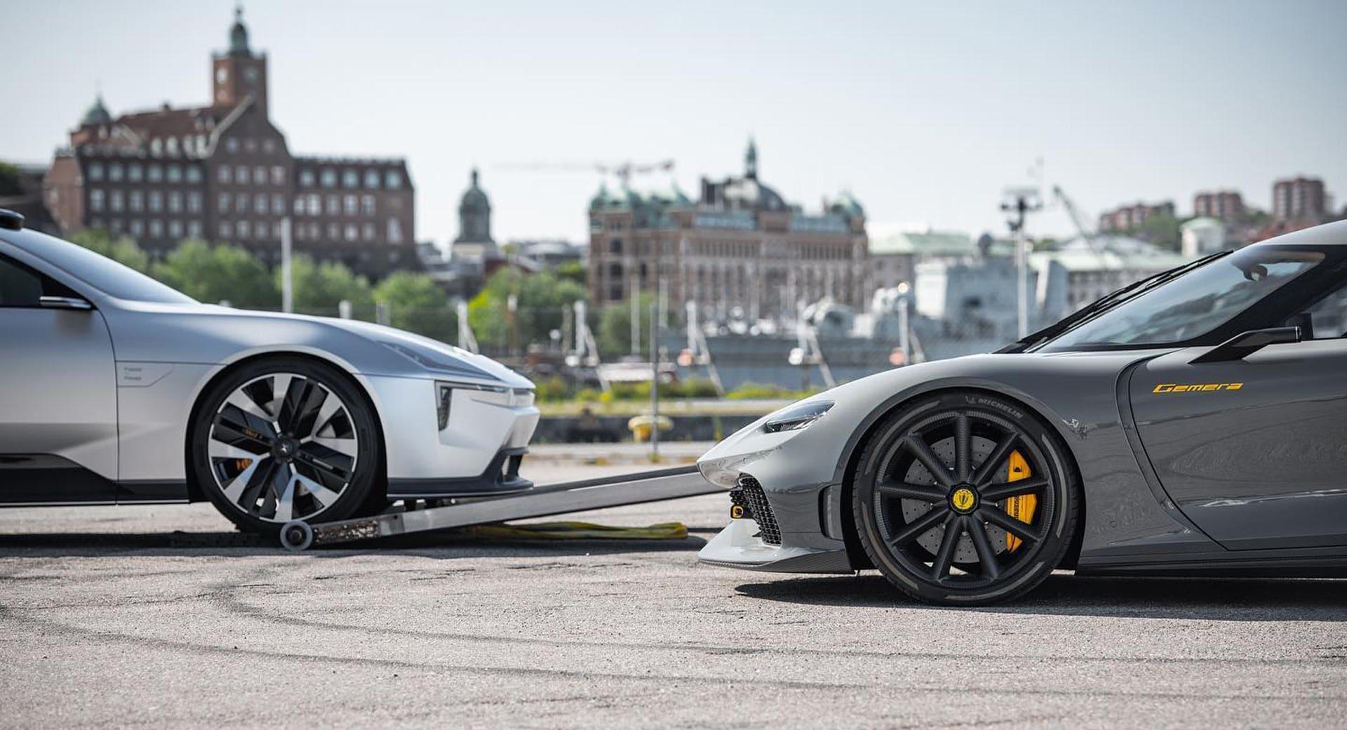 Polestar et Koenigsegg