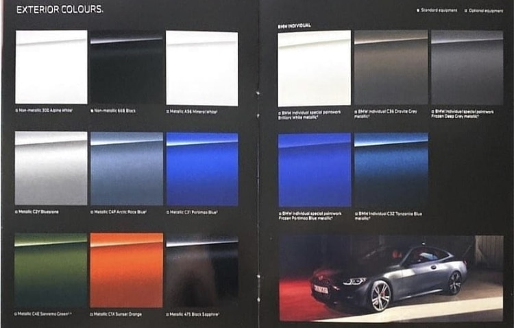 Leak BMW Série 4