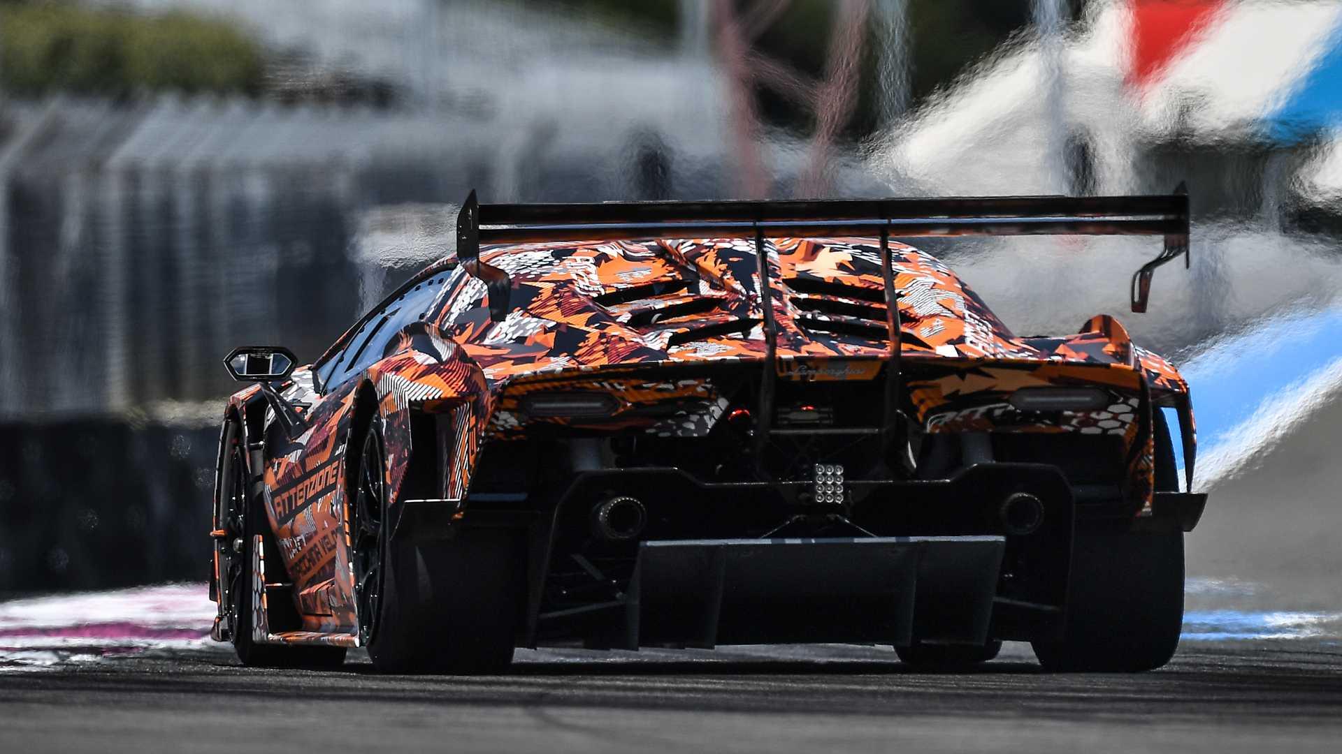 Nouvelle Lamborghini SCV12