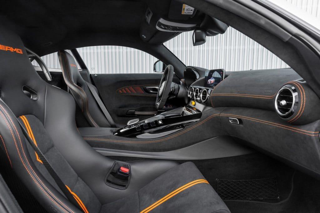 Intérieur de la nouvelle Mercedes-AMG GT Black Series (2020)