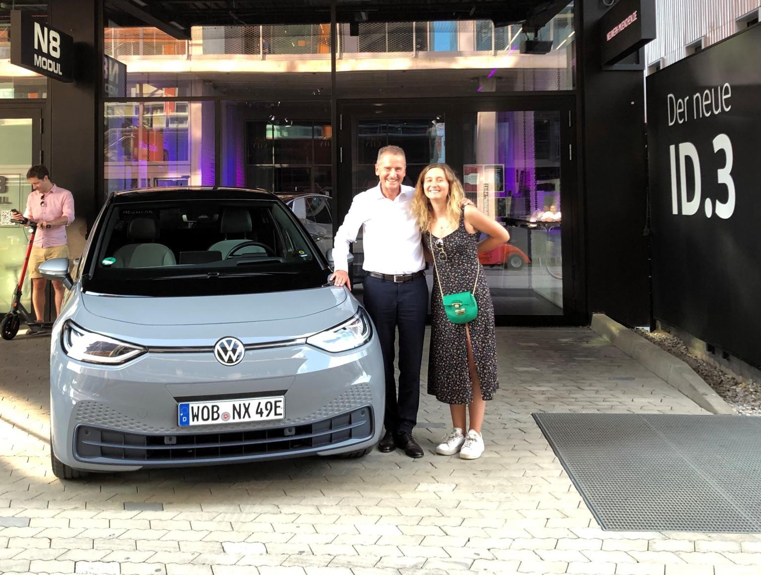 VW ID 3 Diess