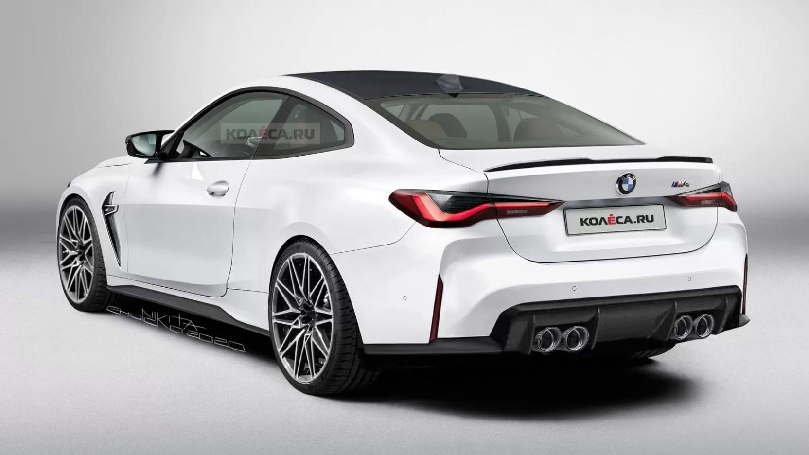 BMW M4 (2020) illustration