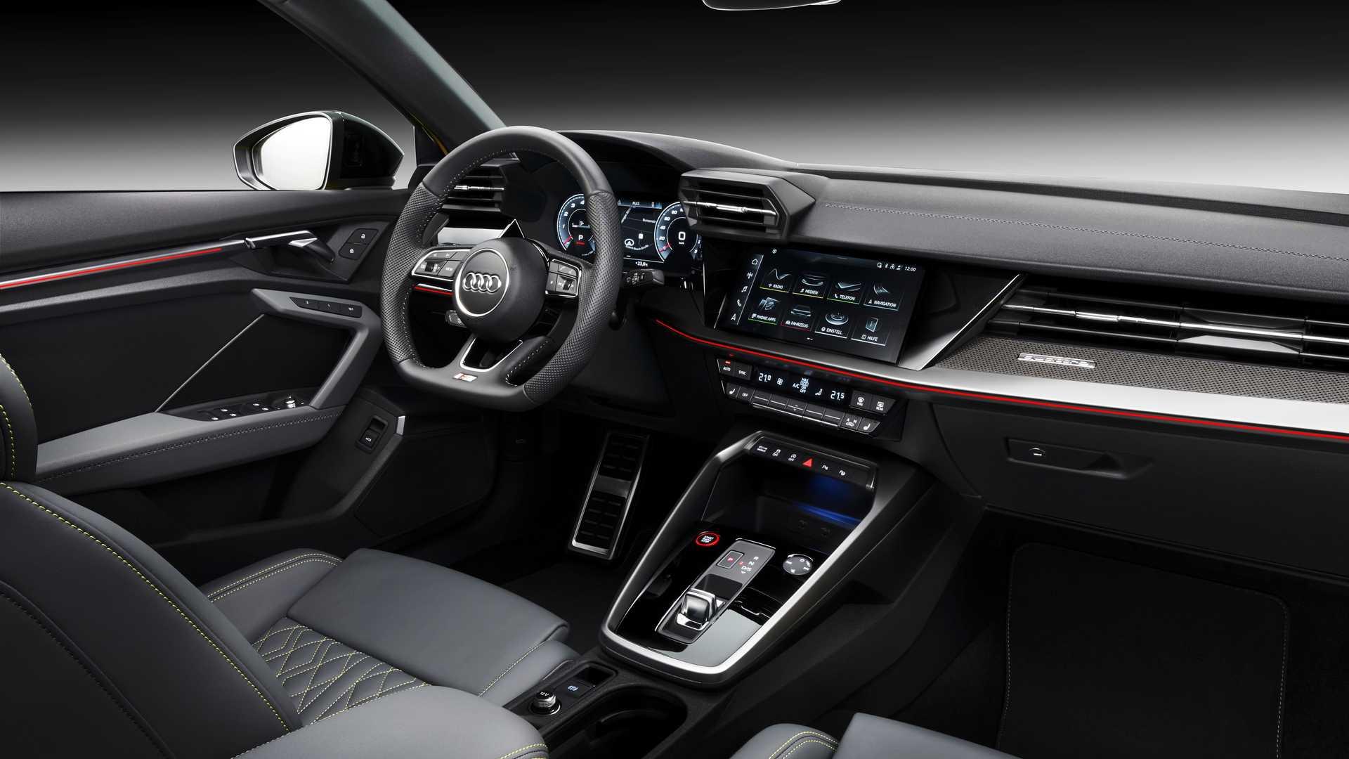 Intérieur Audi S3 (2020)