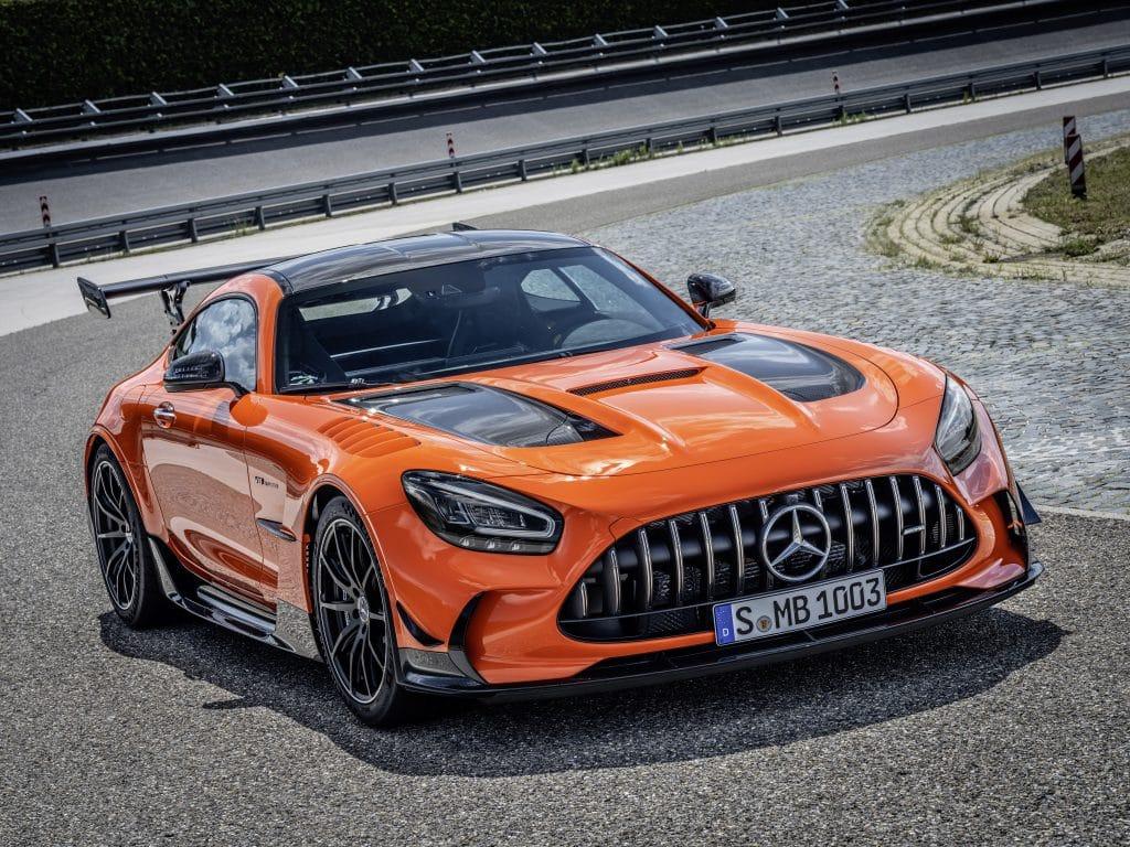 La nouvelle Mercedes-AMG GT Black Series est disponible à la commande