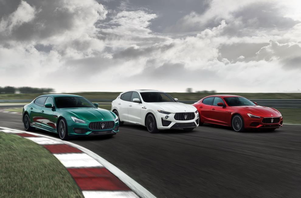 Maserati Ghibli et Quattroporte Trofeo
