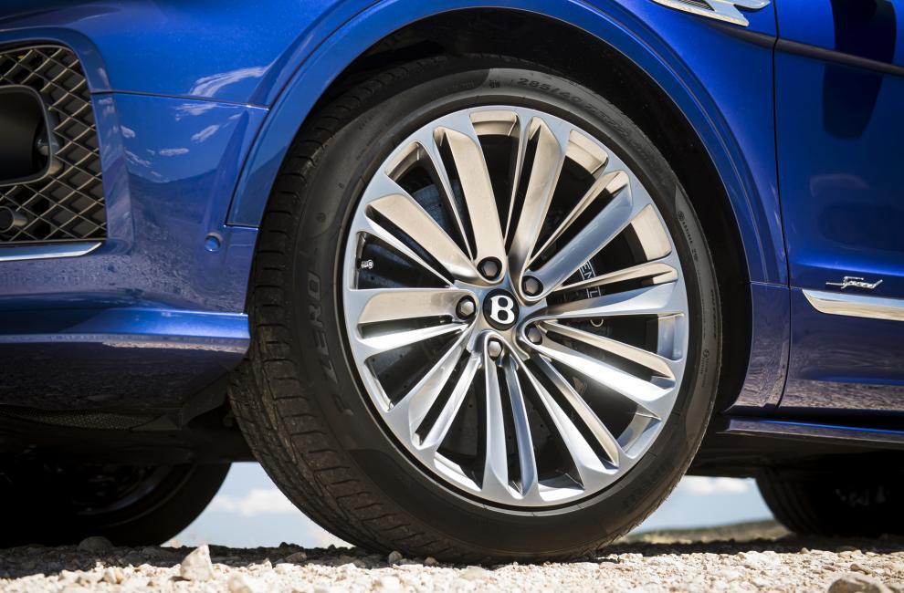 Jantes Bentley Bentayga Speed