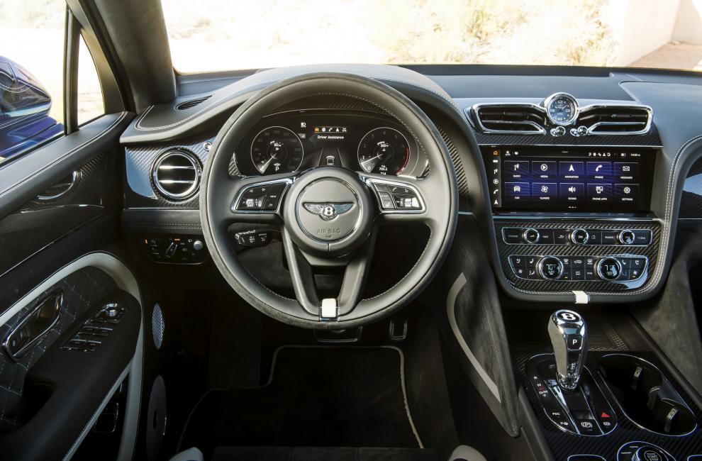 Habitacle Bentley Bentayga Speed restylé (2020)