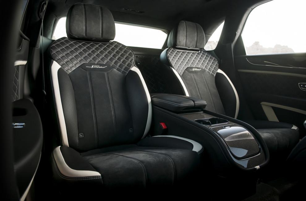 Sièges arrière Bentley Bentayga Speed restylé (2020)