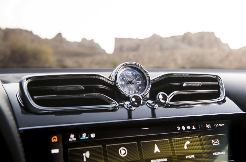 Instrumentation Bentley Bentayga Speed