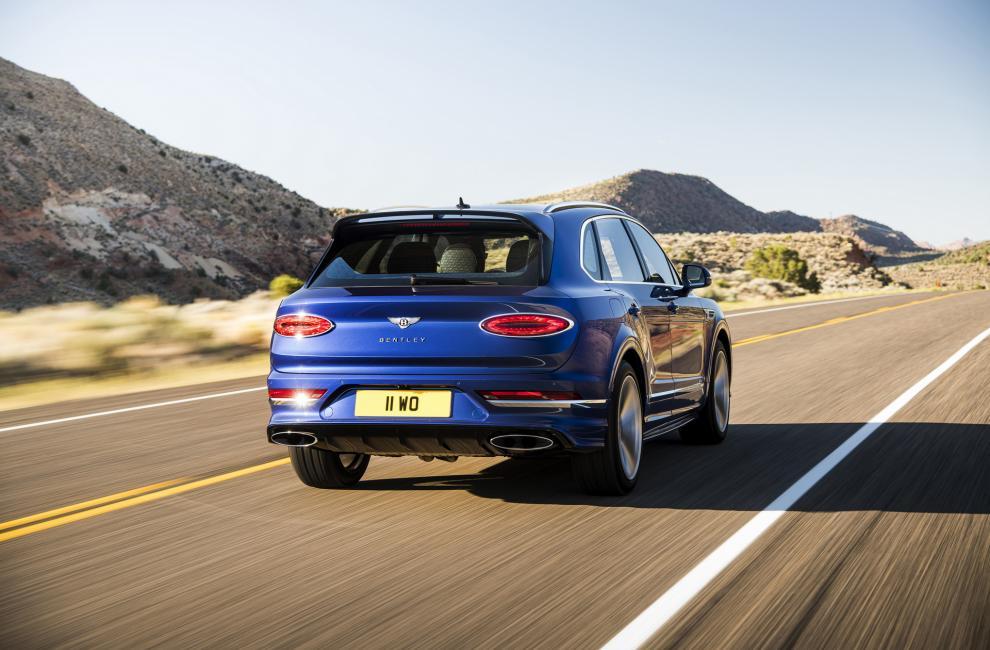 Bentley Bentayga Speed restylé (2020)