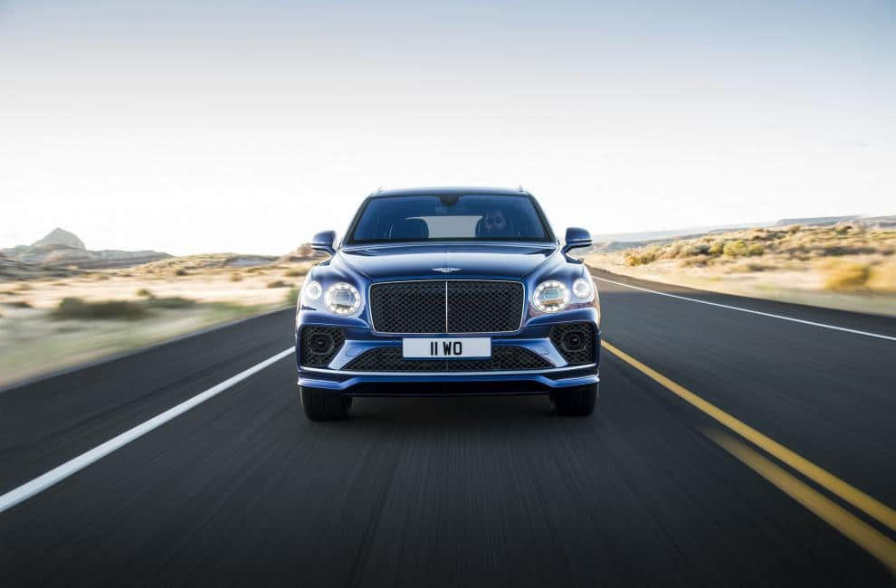 Galerie photo Bentley Bentayga Speed