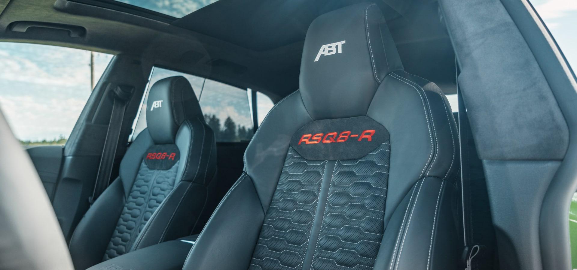 Intérieur Audi RS Q8 ABT