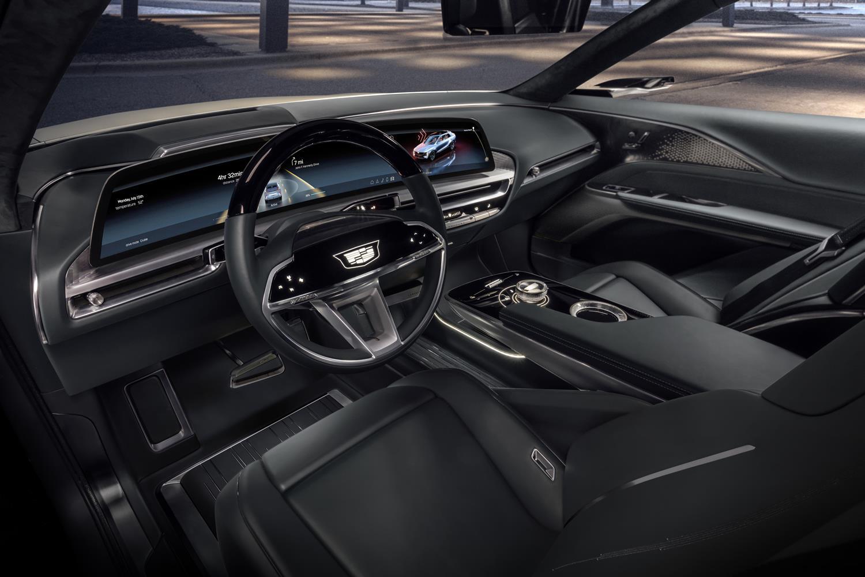 Intérieur du Cadillac Lyriq