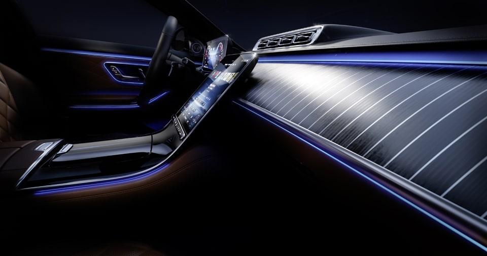 Intérieur Mercedes Classe S 2020