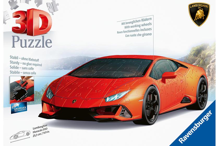 Puzzle 3D Lamborghini Huracan Evo (Ravensburger)