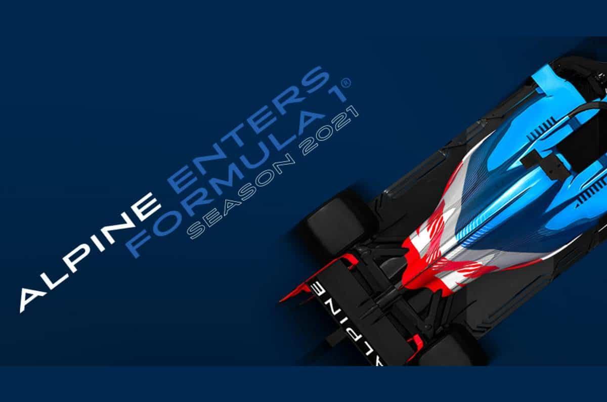 Renault F1 va devenir Alpine F1 en 2021
