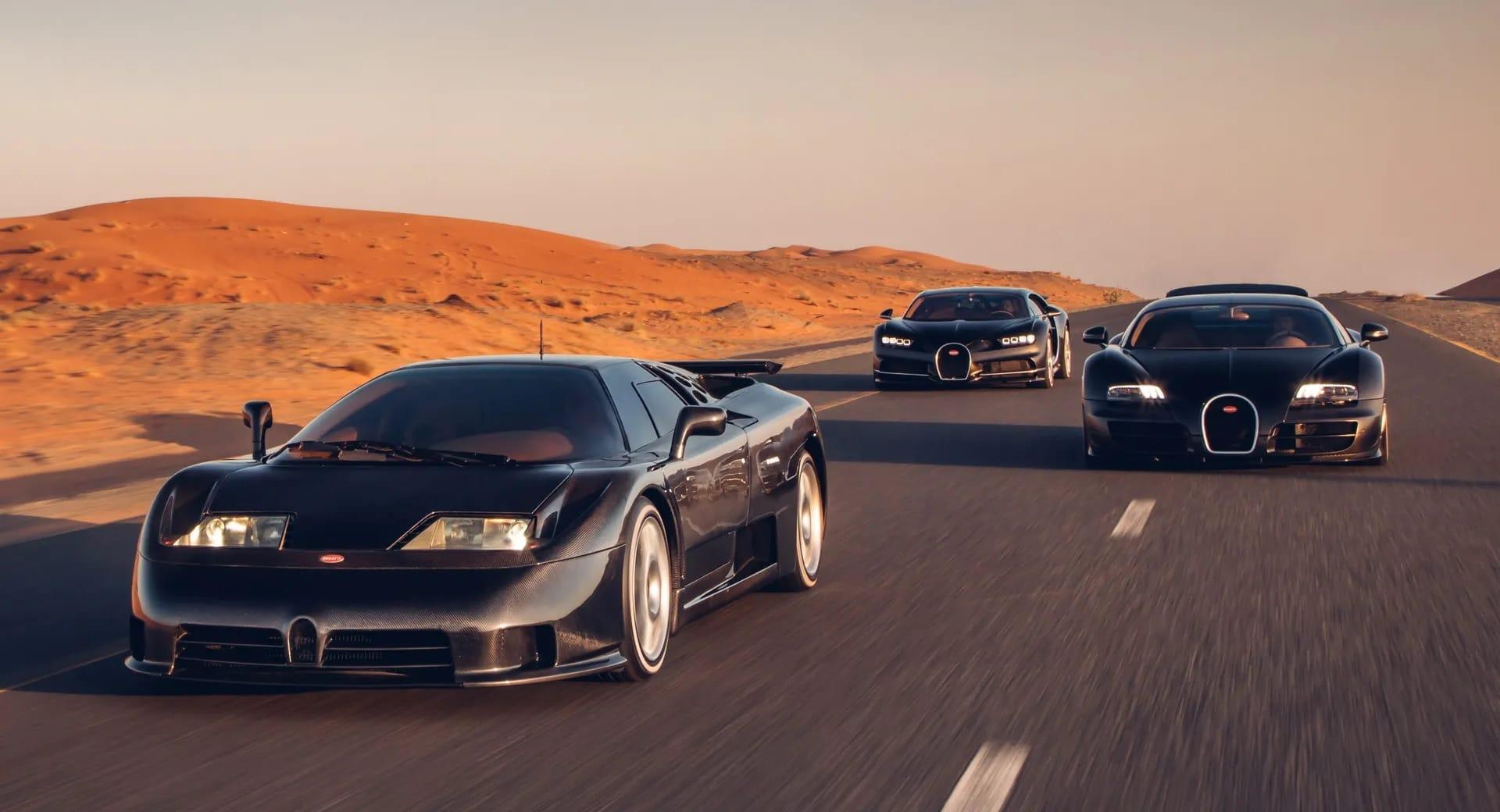 Bugatti racheté par Rimac via Porsche ?