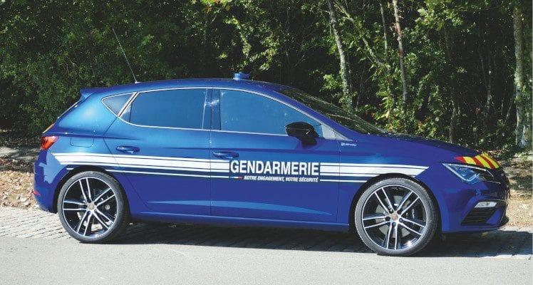 Cupra France Gendarmerie