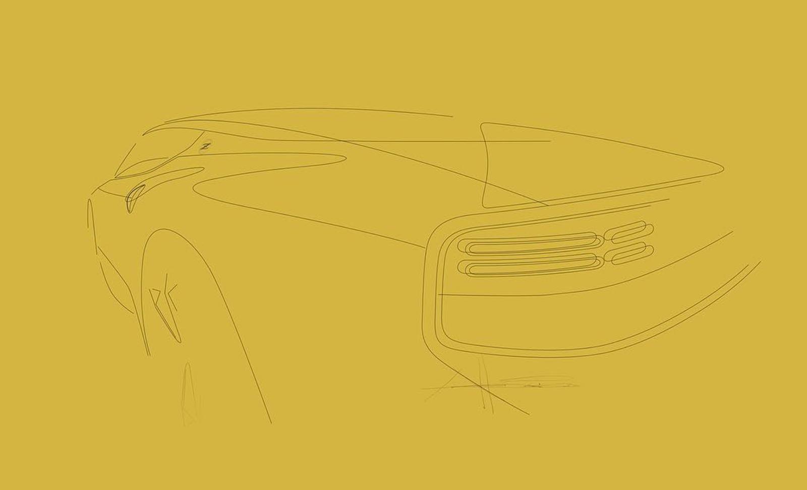 Nissan Z Proto dessin