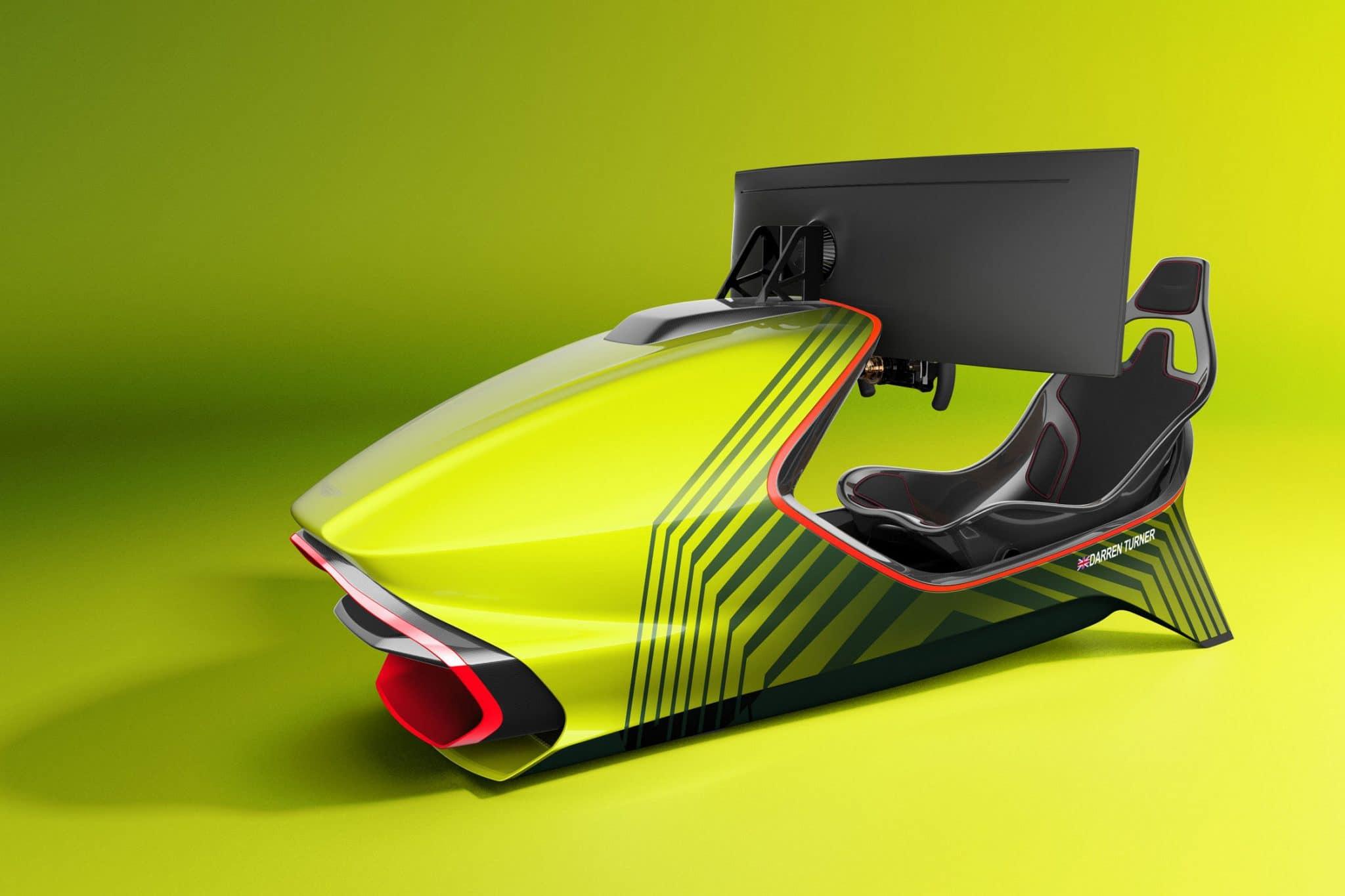simulateur AMR-C01 créé par Aston Martin