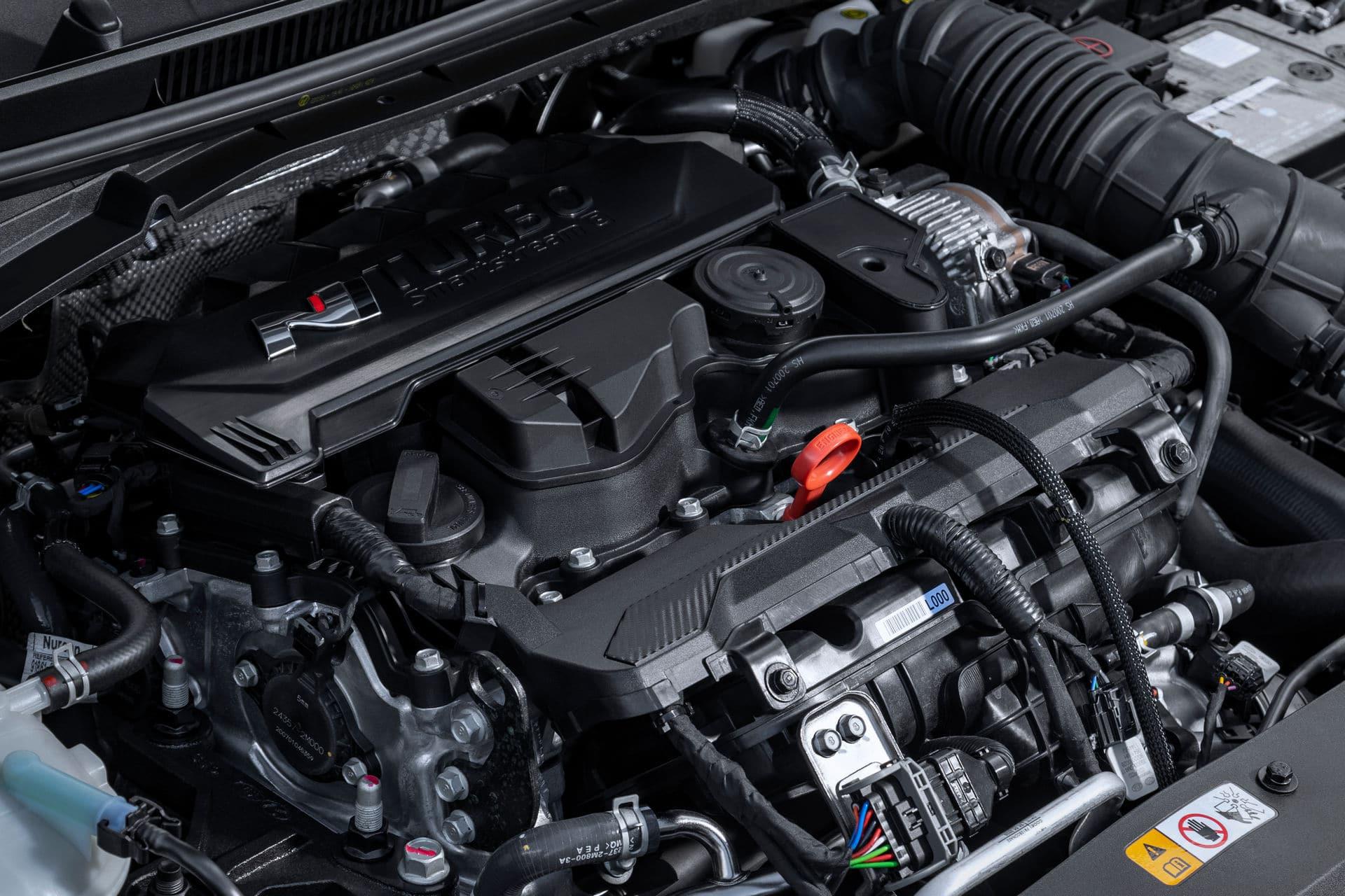 Moteur T-GDi de la Hyundai i20 N (2021)