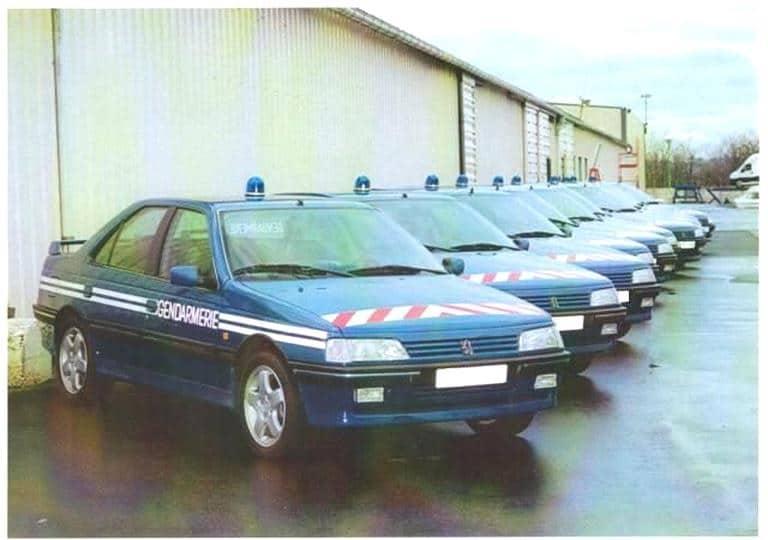 405 T16 de la Gendarmerie