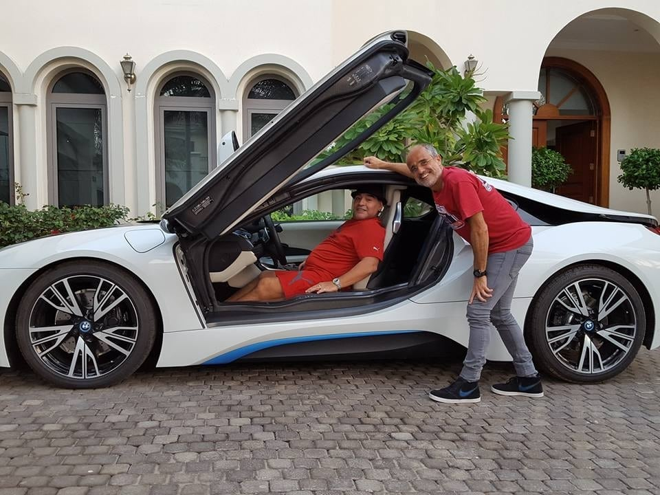 BMW i8 Diego Maradona