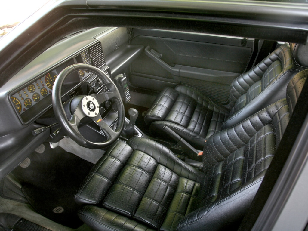Intérieur Lancia Delta HF integrale