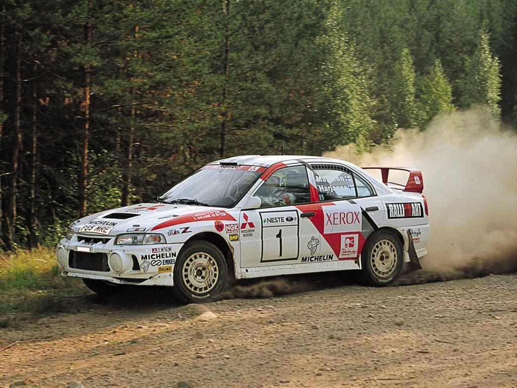 Mitsubishi Lancer Evo Groupe A Rallye