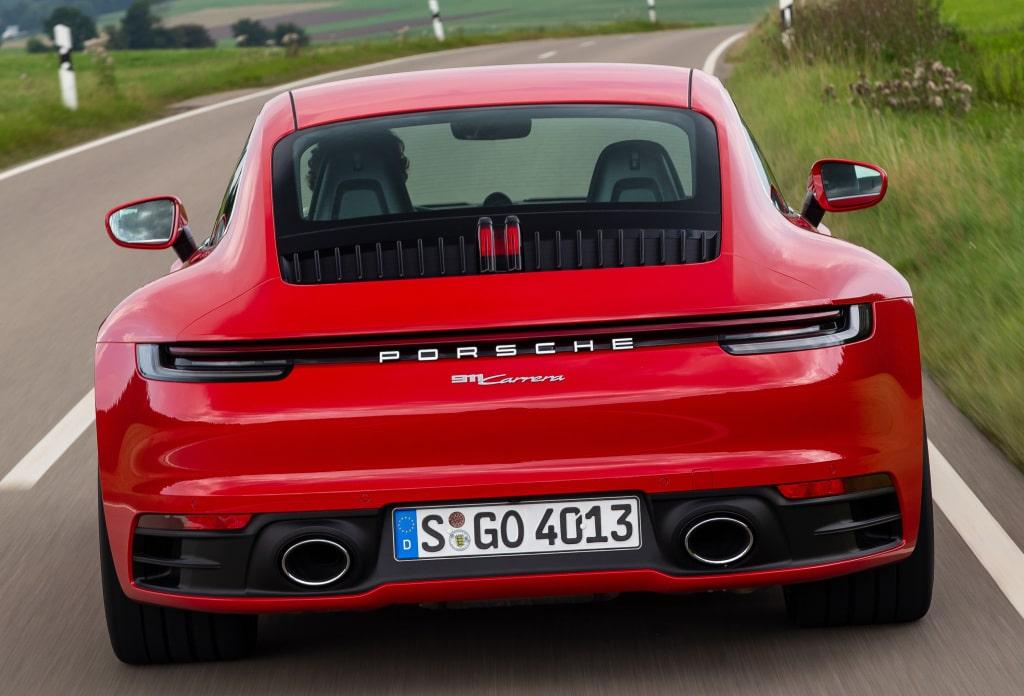 Porsche 911 efuel