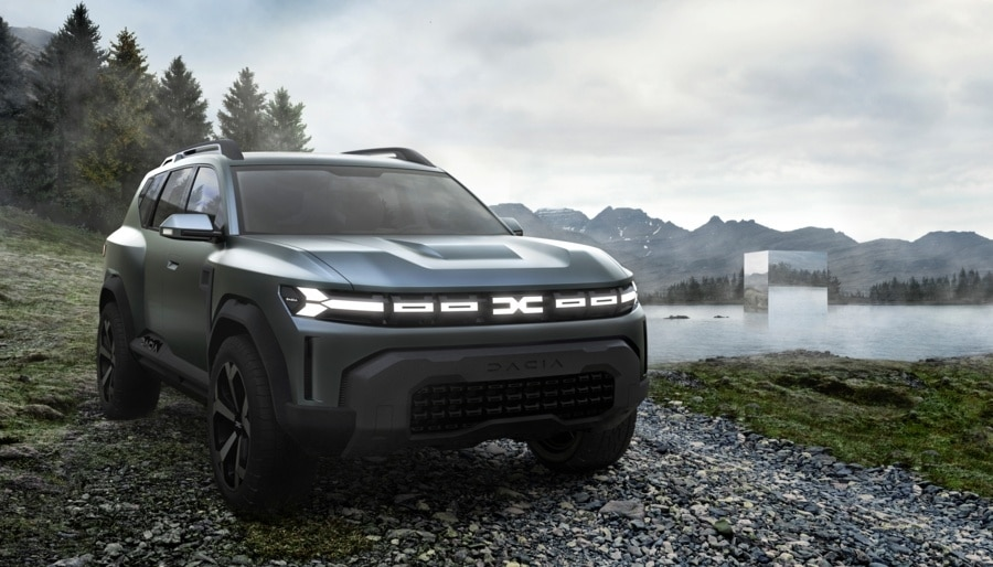 Dacia : concept Bigster