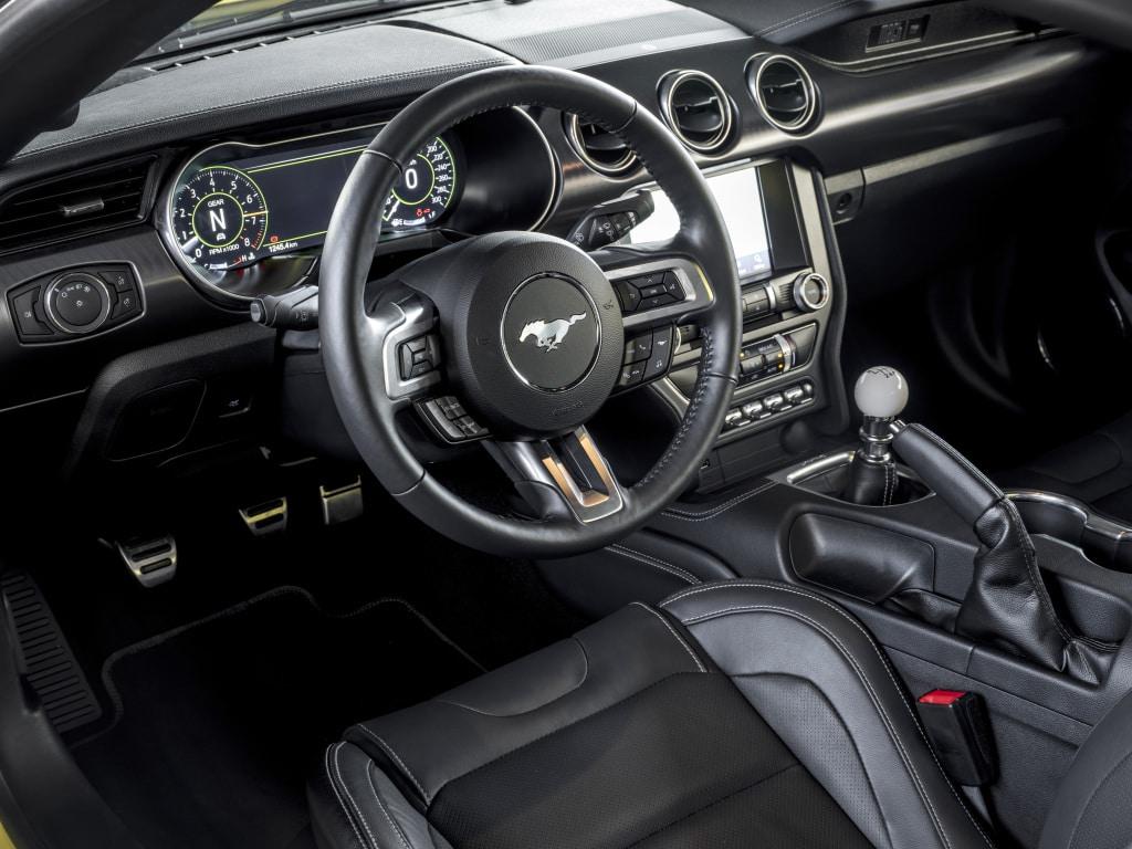 Intérieur Ford Mustang Mach 1 (2021)