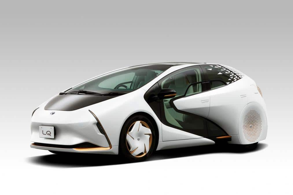 Toyota LQ Concept voiture autonome