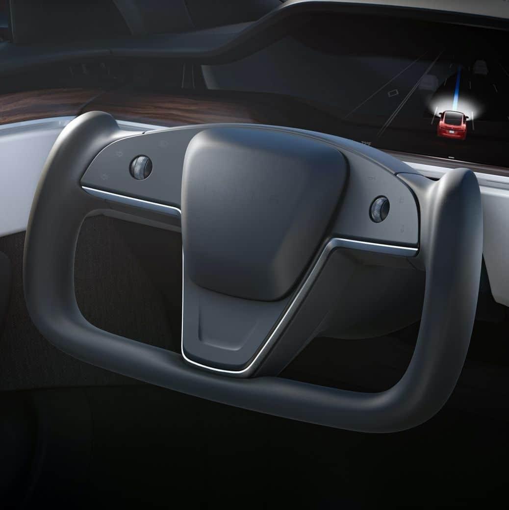 Volant Tesla Model S et X (2021)
