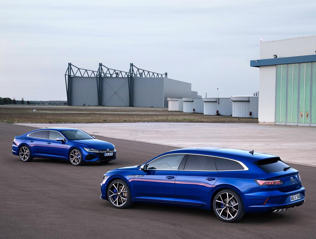 Prix des Volkswagen Arteon R, Arteon Shooting Brake R et Tiguan R