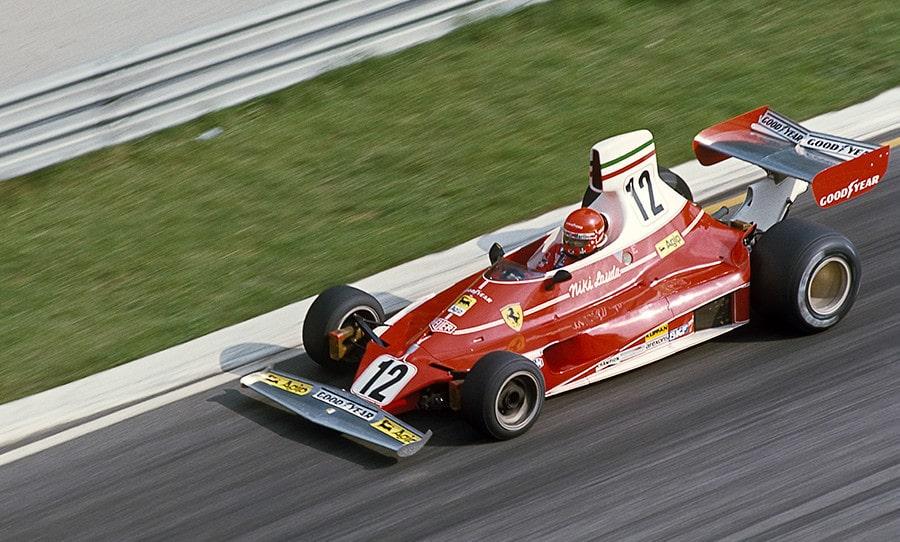 Ferrari Nicki Lauda Formule 1