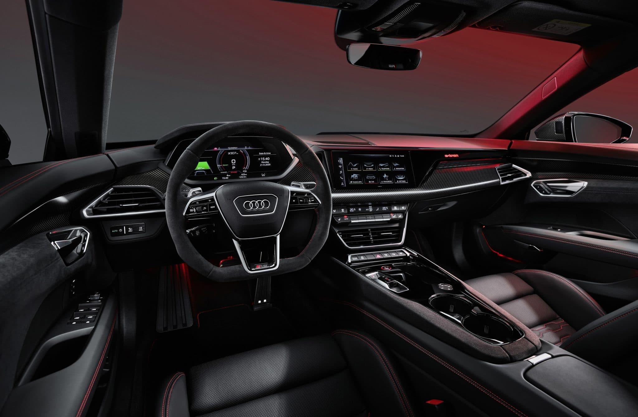 Intérieur Audi e-tron GT