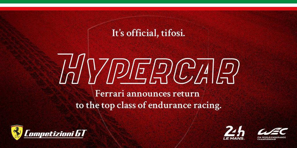 Ferrari 24 heures du Mans