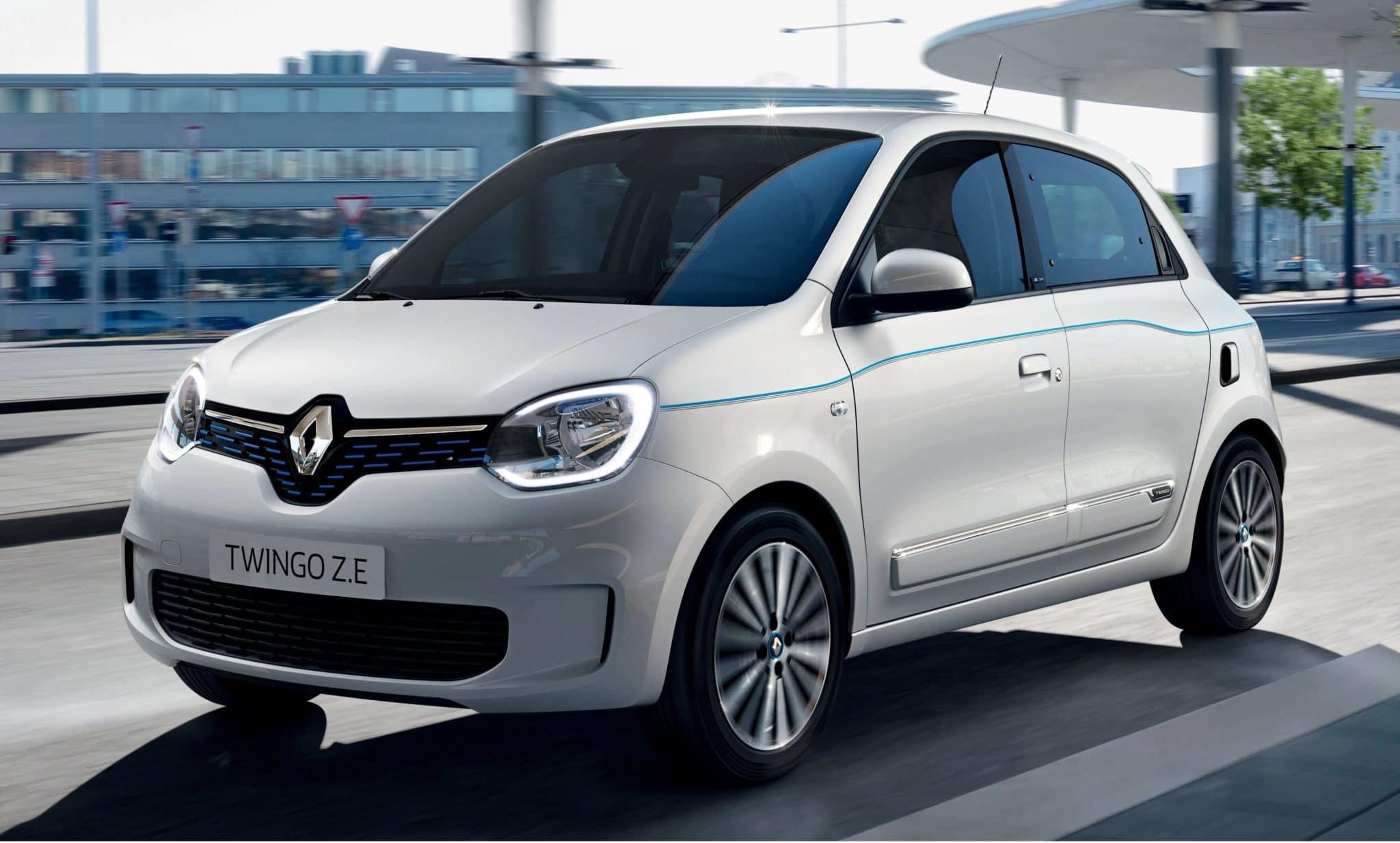Renault Twingo ZE électrique