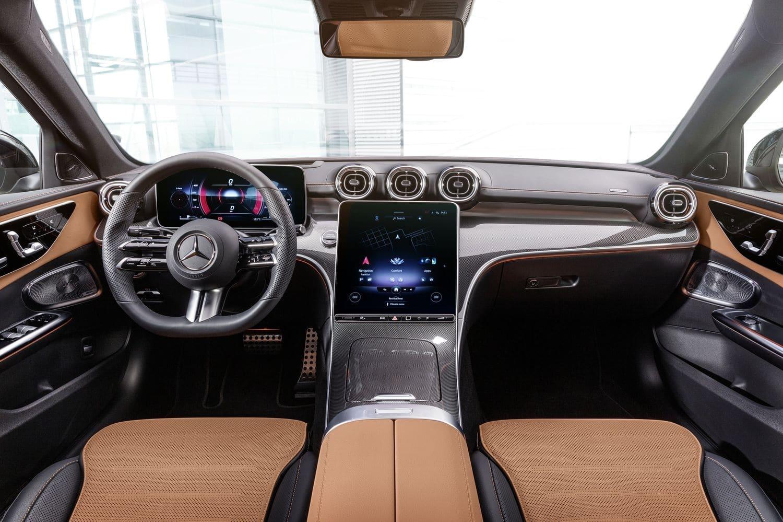 Intérieur Mercedes Classe C (2021)