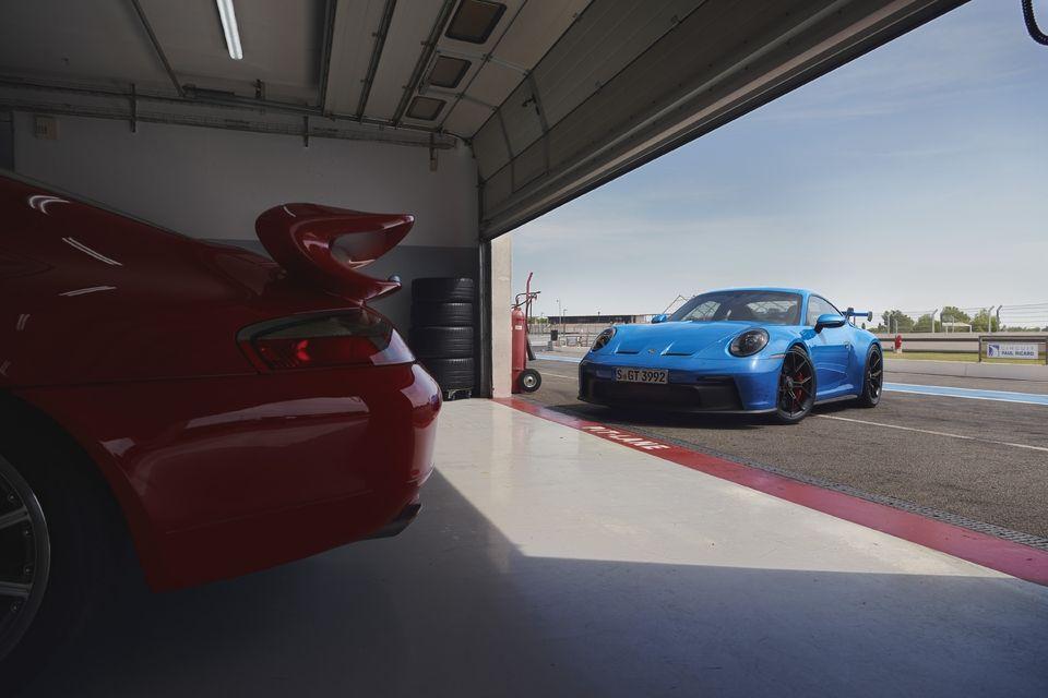 Nouvelle Porsche 911 GT3 (2021)