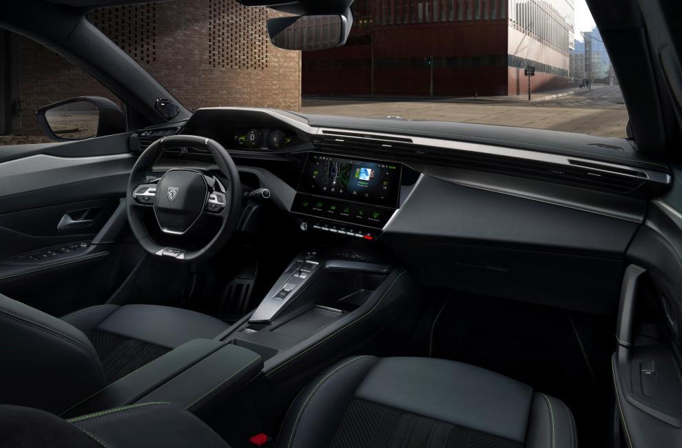 Intérieur habitacle de la Peugeot 308 (2021) 3ème génération