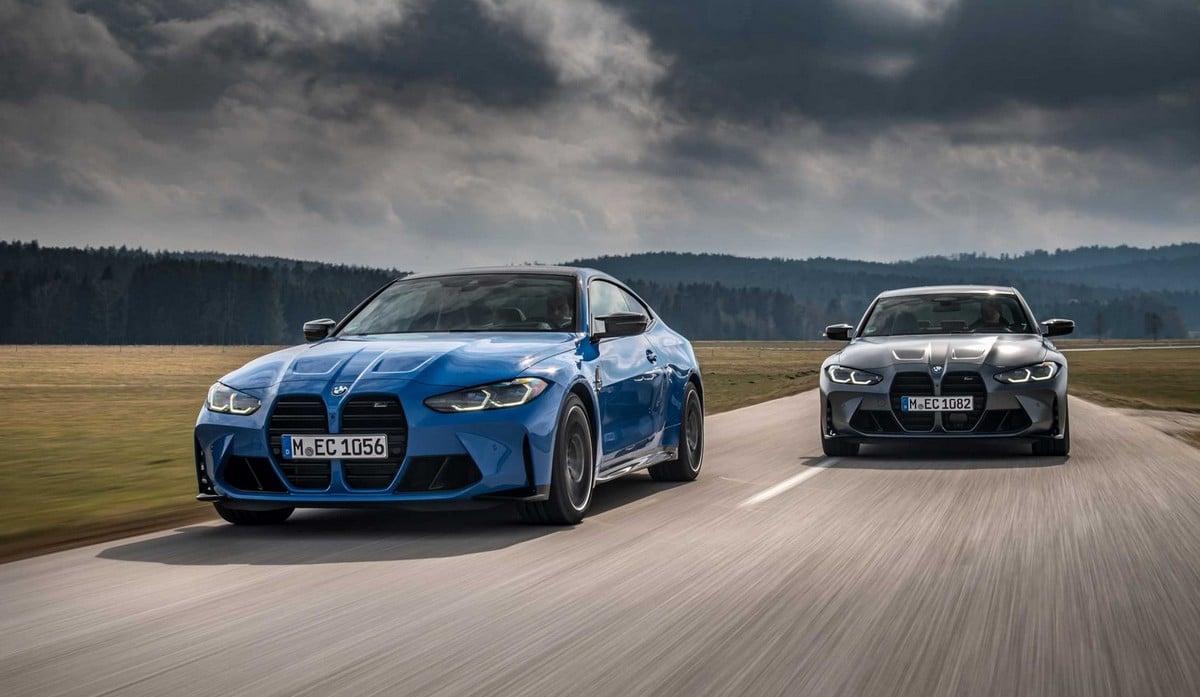 BMW M3 et M4 4 roues motrices