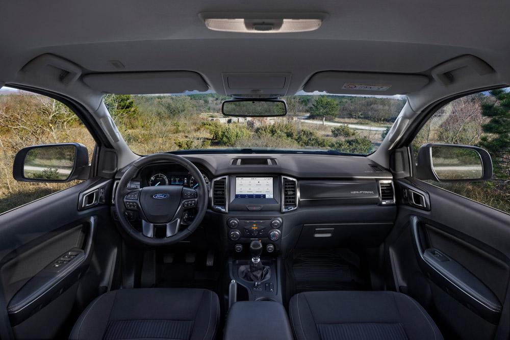 Ford Ranger Wolftrak intérieur