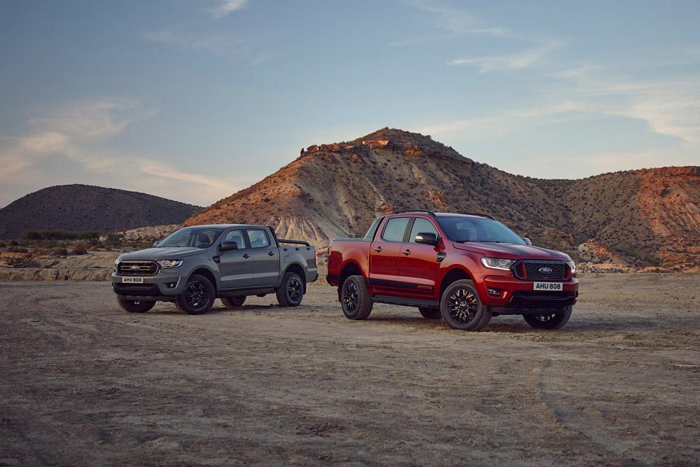 Nouvelles séries limitées Ford Ranger Wolftrak et Stormtrak