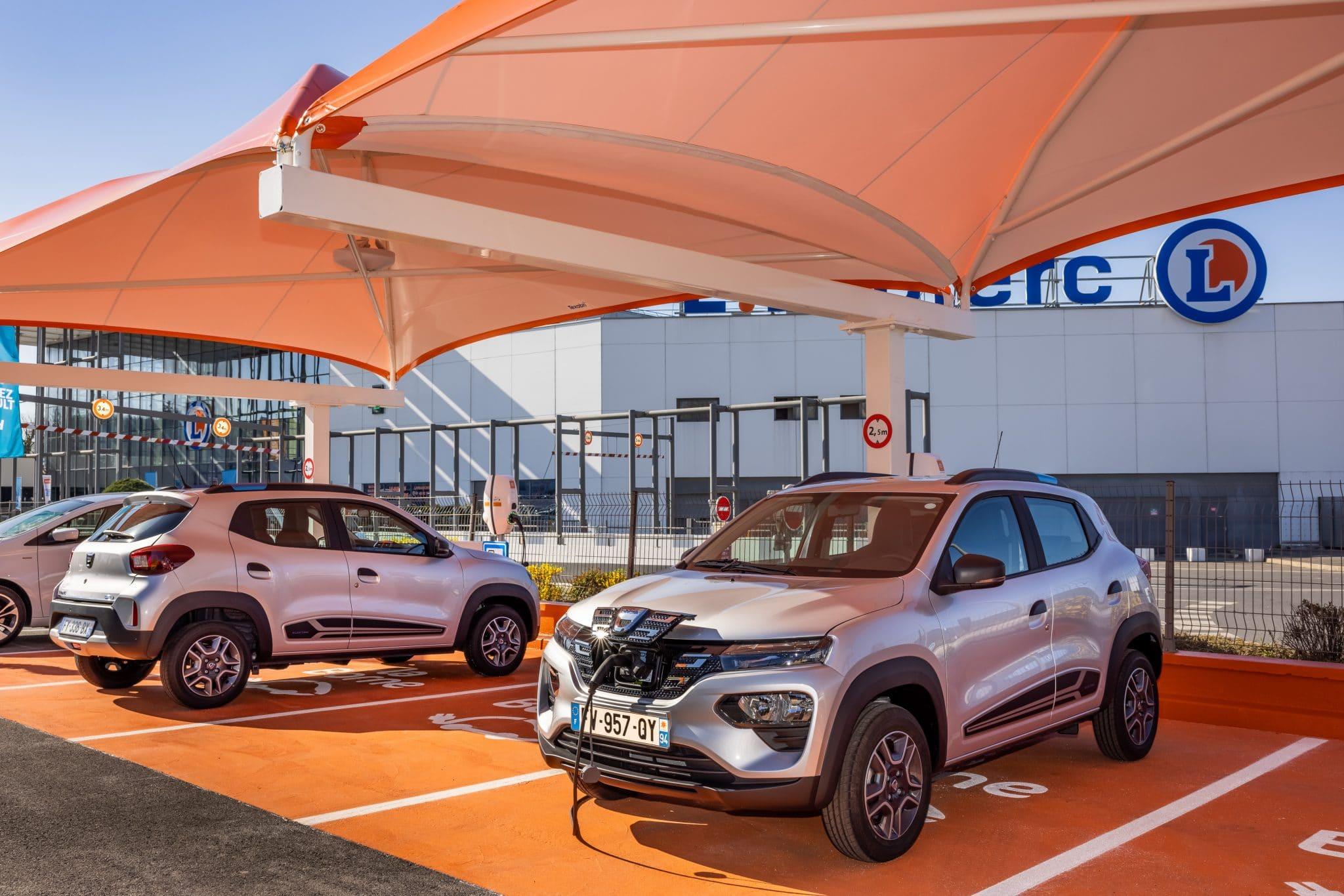 Dacia Spring Leclerc