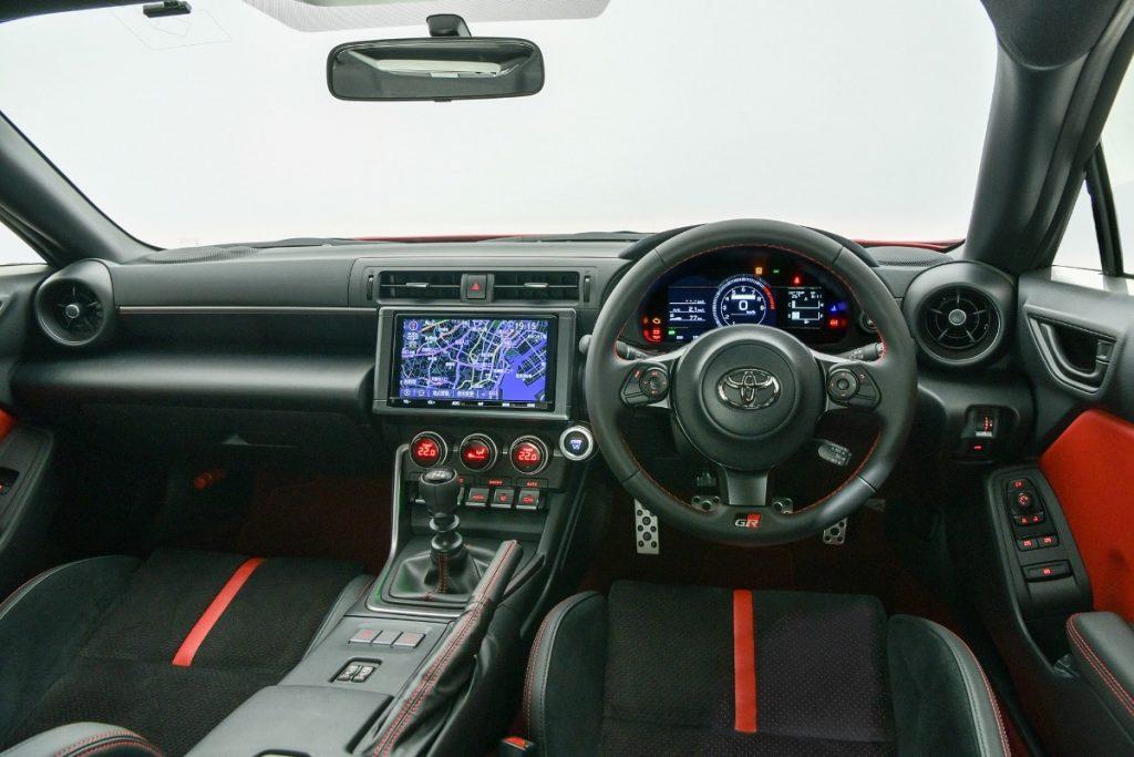 Intérieur de la Toyota GR 86 (2021)