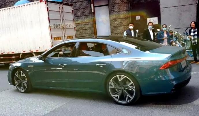 Audi A7 L Chine
