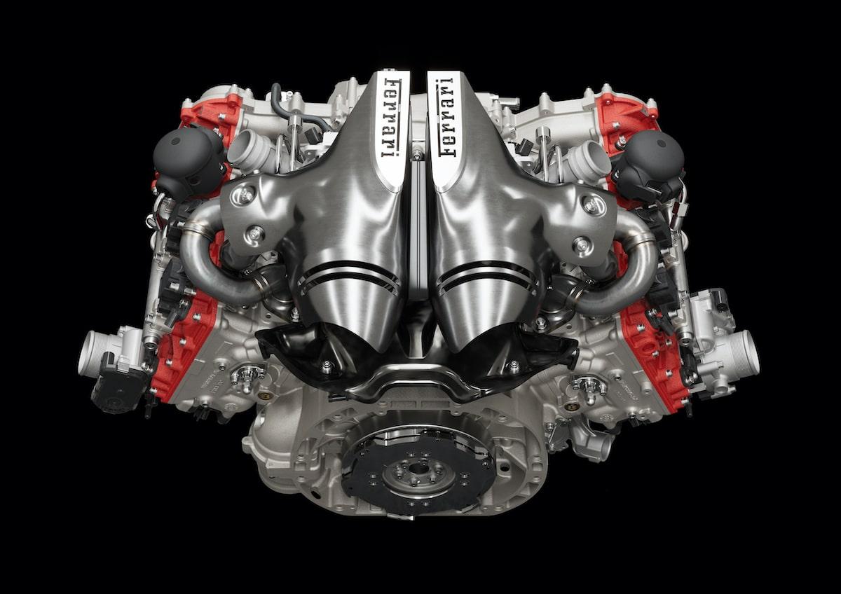 Ferrari 296 GTB (2021) engine